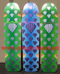 "Alva / Powerstation Brad Bowman 36"" Limited Edition Deck BLUE"