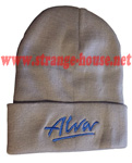 Alva OG Logo Beanie Gray / Royal