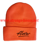 Alva OG Logo Beanie Orange / Black