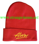 Alva OG Logo Beanie Red / Gold