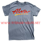 Alva OG Logo T-Shirt Stone Gray / Fade Logo / Medium