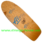 "Alva Steve ""Salba"" Alba Prototype Signed Re-Issue Deck"
