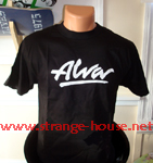 Alva Logo T-Shirt Black Small