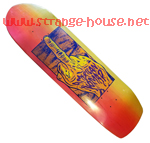 "American Nomad One Finger Salute 9.0"" Fade Deck Yellow / Pink"