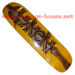 "American Nomad The Barbarian 8.25"" Deck - Yellow"