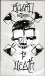 "Anti-Hero ""Y Que"" Board To Death 7.5"" x 4.5"" White Sticker MD"