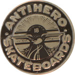 "Anti-Hero Stay Ready Lapel Pin / 1"" Round"