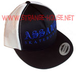 Assault Trucker Mesh Cap / Adjustable - Black/White/Blue
