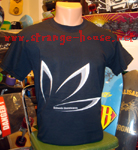 Bakwuds Skateboards Leaf Shirt Black / Medium