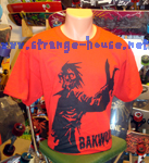 Bakwuds Skateboards Zombie Shirt Red / X-Large