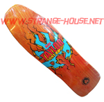 "Black Label Auby Taylor Breakout 9.5"" Deck - Orange Stain"