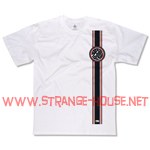 Black Label John Lucero Racing Stripe T-Shirt White / Large