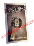 "Black Label Thumbhead Lapel Pin - 1"" Round"