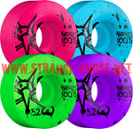 Bones 100's Wheels - 52mm / Party Pack / OG Formula / V1