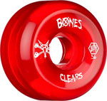 Bones SPF Clears 56mm / V5 - Red