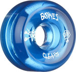 Bones SPF Clears 58mm / V5 - Blue