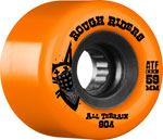 Bones ATF Rough Riders 59mm / 80a Orange
