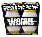 Bones Hardcore Bushings Medium / White (2 Trucks)