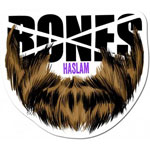 "Bones Haslam Beard Sticker 2.5"" x 2.75"""