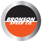 "Bronson Speed Co. 2.5"" Round Foil Decal"
