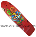 "Bulldog Skates 40"" Griffin Long Pig - 10.5"" x 40"" - Red"