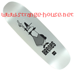 "Chocolate Chico Brenes Express 9.0"" Deck"