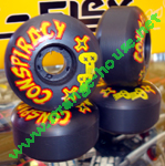 Conspiracy 56mm / 99a Black Wheels