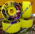 Conspiracy 60mm / 95a Yellow Wheels