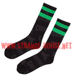 Creature Chud Crew Socks / 1 Pair - Black