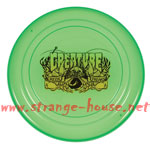 "Creature Freaky Flyer / Translucent Emerald Green / 9"" Round"