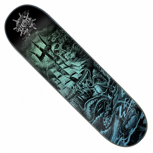 "Creature Black Abyss Gravette Model / 8"" x 31.6"""