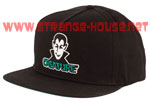 Creature Vamp Adjustable Twill Hat - Black - One Size