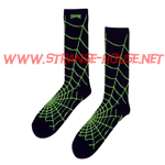 Creature Webbers Crew Socks / 1 Pair / Black