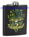 Creature Camp Flask 7 oz. / Black