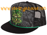Creature Camp Trucker Mesh Cap / OS / Black