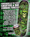 Creature Daf Divas Ltd Ed. Deck / Numbered / Only 250 Made