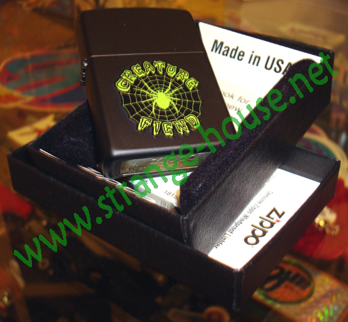 Creature Zippo Fiend Lighter / Made in the USA
