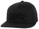 Creature 3D Logo Flex Fit Pro Black / Men's Sm/Md.