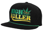 Creature High Roller Adjustable Corduroy Hat / Black / OS