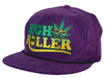 Creature High Roller Adjustable Corduroy Hat / Purple / OS