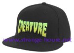 Creature Logo Fade FlexfitA Fitted Stretch Hat Small/Medium