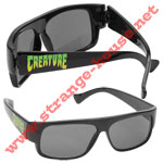 Creature Lokoz Sunglasses - Black