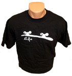 "Deep South Clothing ""Skate Life"" T-Shirt Black / Large"