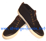 Dekline TimTim Premium Black, Antique, Suede Shoe Mens Size 11.5