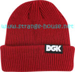 DGK Classic 2 Red Beanie / One Size
