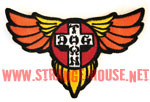 "Dogtown Skates Classic Wing Patch / 4"" x 3"""