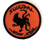 "Dogtown x Suicidal Jason Jessee 3"" Round Rooster Patch"