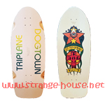 Dogtown Skates Jim Muir Triplane ReIssue Ltd. Ed. White Bottom