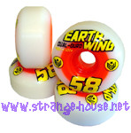 Earthwing Superballs Dual Durometer 58mm / 101a / 48d