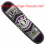 "Element Nyjah Huston Ride 8.12"" Thriftwood Deck"